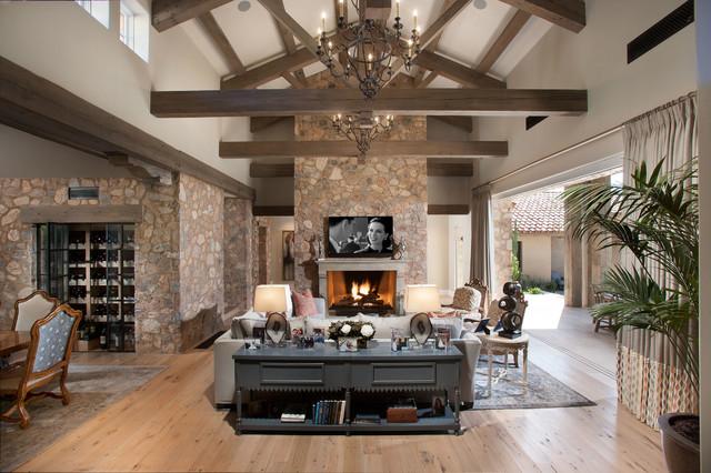 Rimrock Residence Southwestern Living Room
