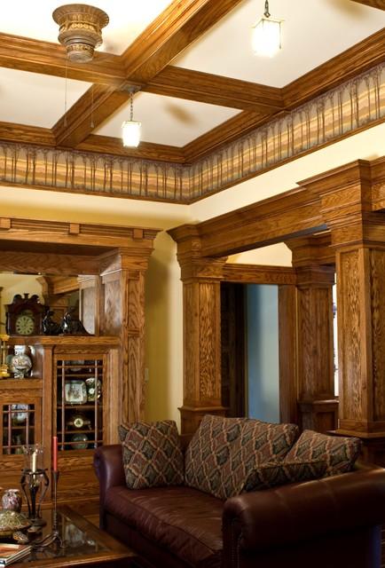 Rinaldo Lake House traditional-living-room