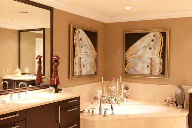 Ritz Carlton Residence contemporary-living-room