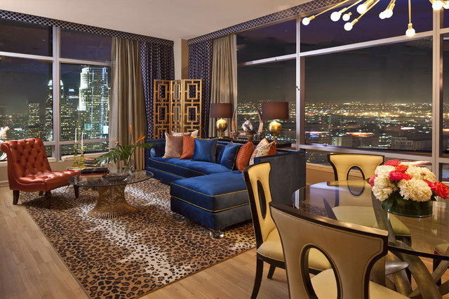 Ritz carlton residences satterfield eclectic living for The family room los angeles