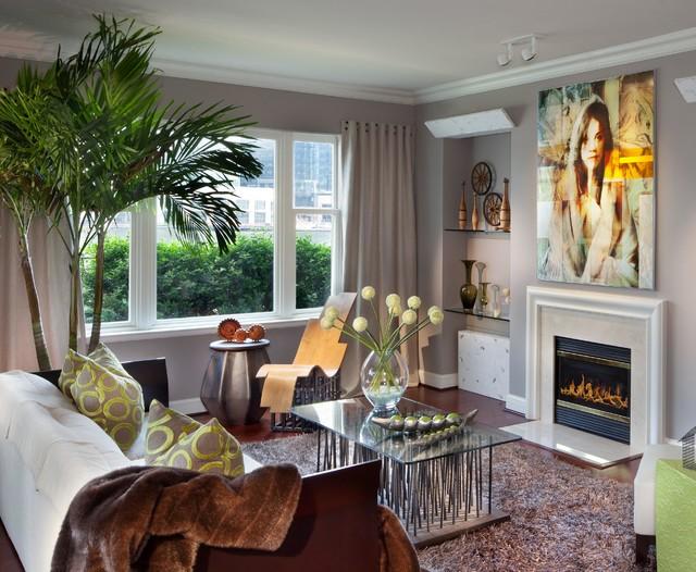 Ritz Carlton Residences contemporary-living-room