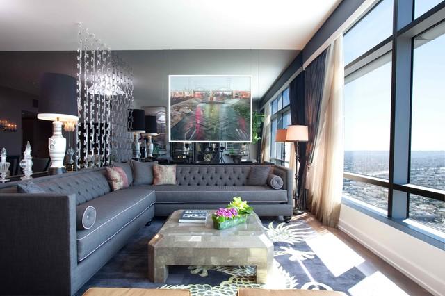 Ritz-Carlton eclectic-living-room