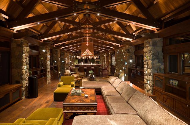 Rivendell in park city utah contemporary living room for Modern design utah