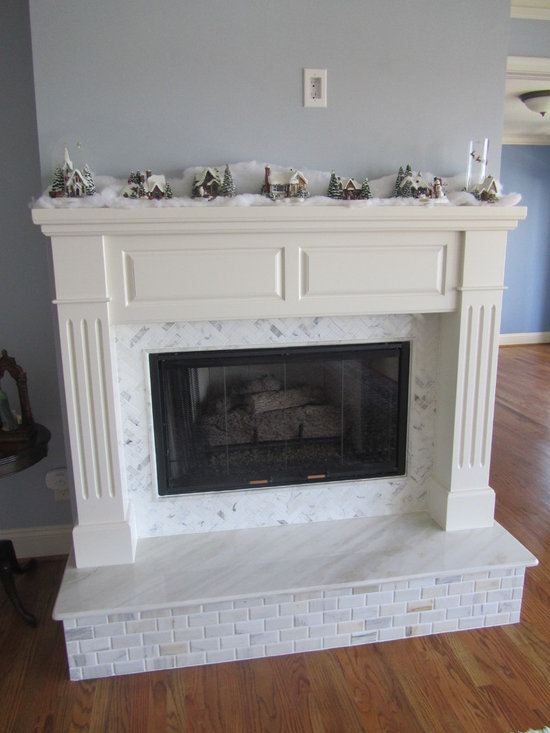 Calcutta Marble Fireplace Home Design Ideas Pictures