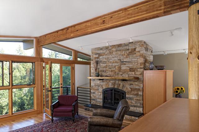 River Run eclectic-living-room