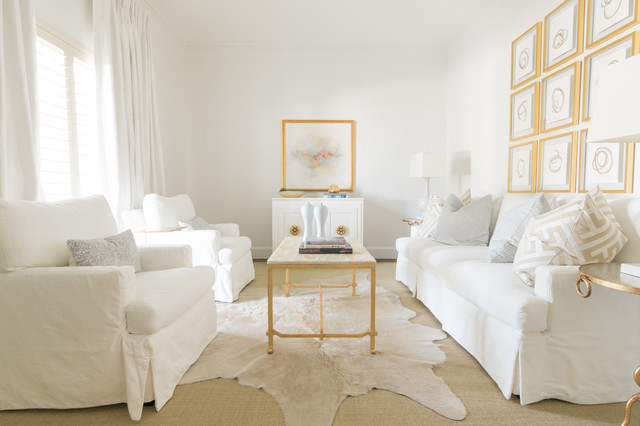 Rivers Spencer Interiors Transitional Living Room