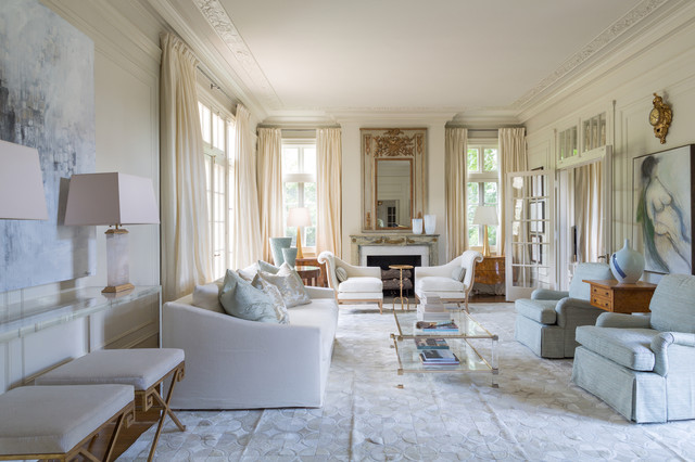 Rivers Spencer Interiors Traditional Living Room