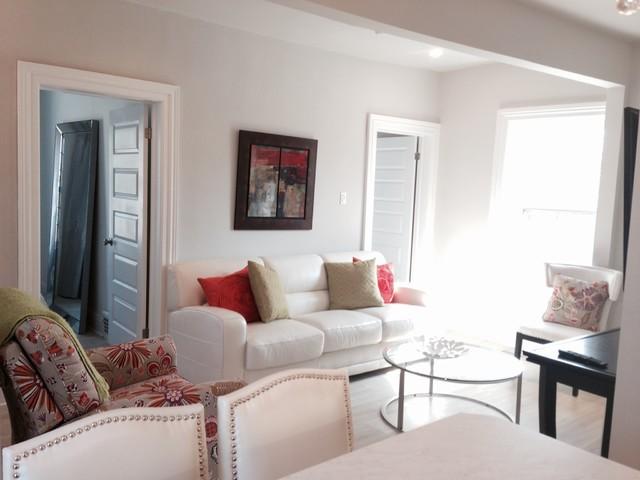 Riverside apartment for Salon classique chic