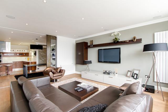 Riverside Chic Modern Living Room London By Chris Snook