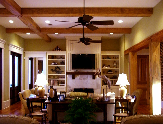 RJ Elder Design traditional-living-room