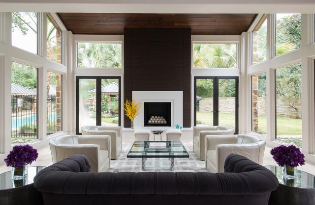 Lago Vista Residence  Modern Living Room