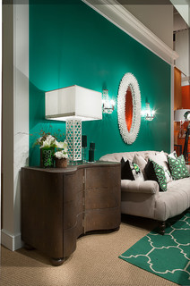 Road to Emerald 2013 - Contemporary - Living Room - Las Vegas - by Larry Hanna
