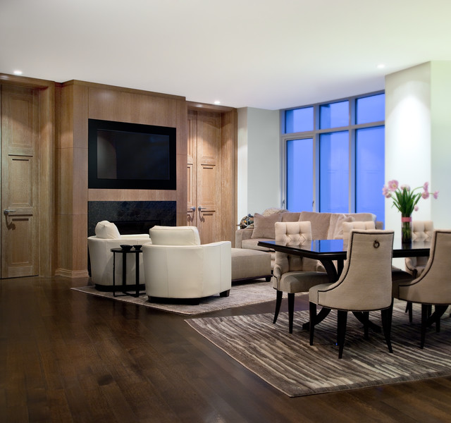 Robert J Erdmann Design, LLC modern-living-room
