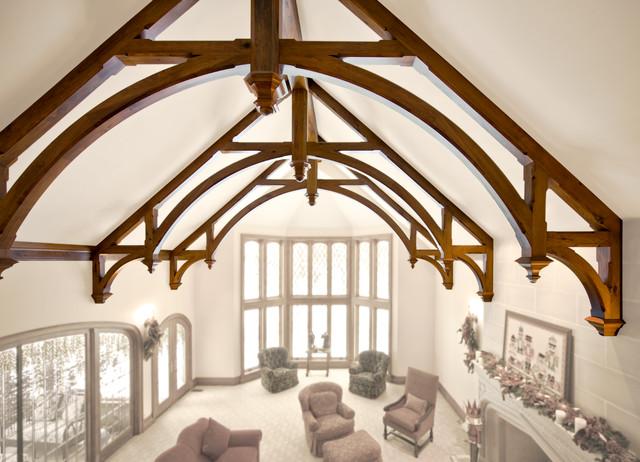 Robert J Erdmann Design, LLC traditional-living-room
