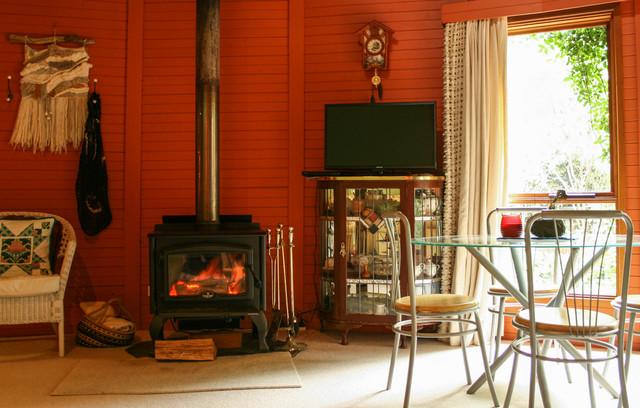 Robertson Yurt Asian Living Room Wollongong By