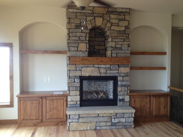 Robinette residence traditional-living-room