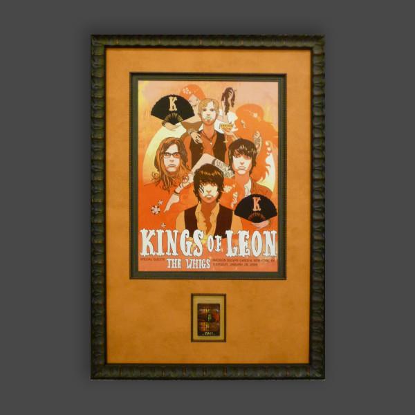 Rock roll art framings for Rock n roll living room