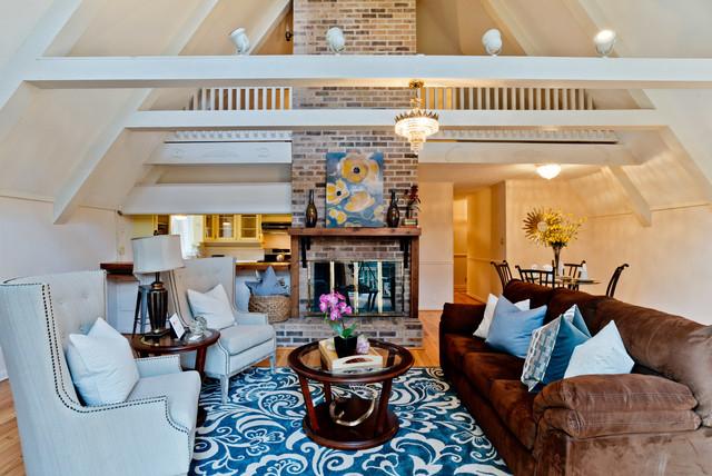 Rock Creek Dr Fairhope Al Rustic Living Room By