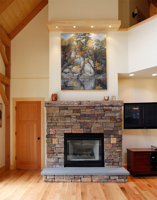 Rock Ridge traditional-living-room