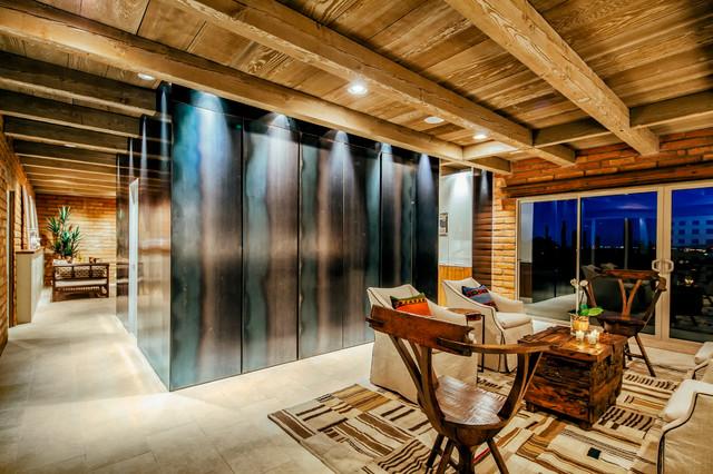 Lindsey Schultz Design Interior Designers Decorators Living Room Southwestern Idea In Phoenix