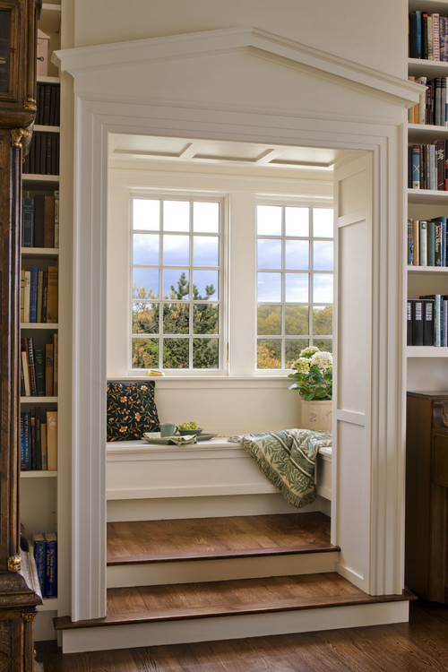 7 reading nooks to inspire your sanctuarysunday photos Window seat reading nook