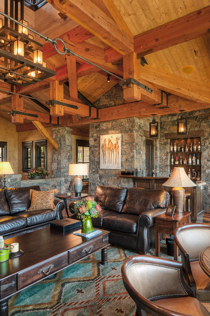 Rocky Mountain Homes- Mountain Timberframe - Rustic ...
