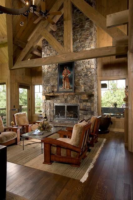 Rocky Mountain Log Homes Relaxing Rustic Retreat