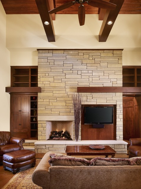 Living Room With Fireplace And Tv How To Arrange 7 ways to rock a tv and fireplace combo