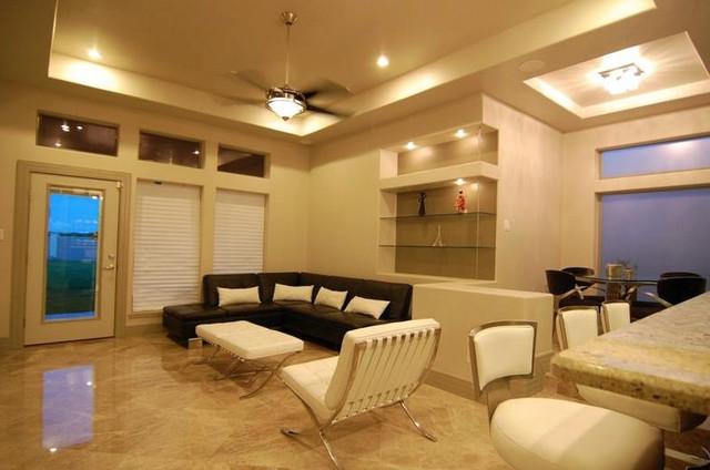 Rojas House modern-living-room
