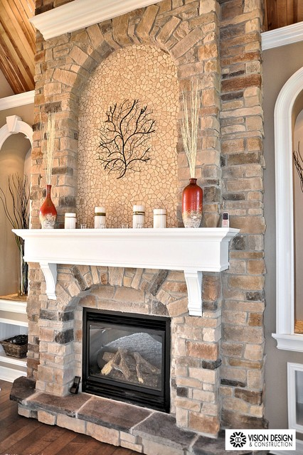 Rolling Hills Estates - Fireplaces traditional-living-room