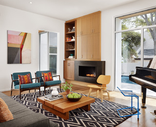 Rollingwood Residence contemporary-living-room