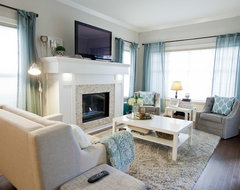 Rommens Home Renovation contemporary-living-room