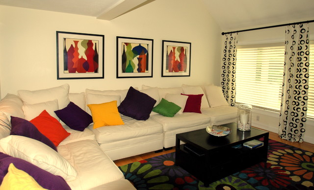 Rooms by Kelly contemporary-living-room