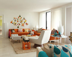 Rooms to Inspire by the Sea by Annie Kelly beach homes houses contemporary-living-room