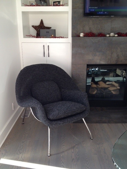 Rooms with our womb chair reproduction midcentury for Accents salon bellingham