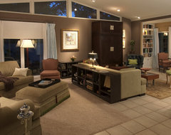 Rooms Within Rooms eclectic-living-room