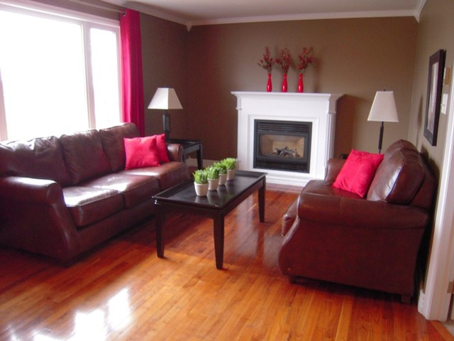 Roomscaping in Newfoundland traditional-living-room