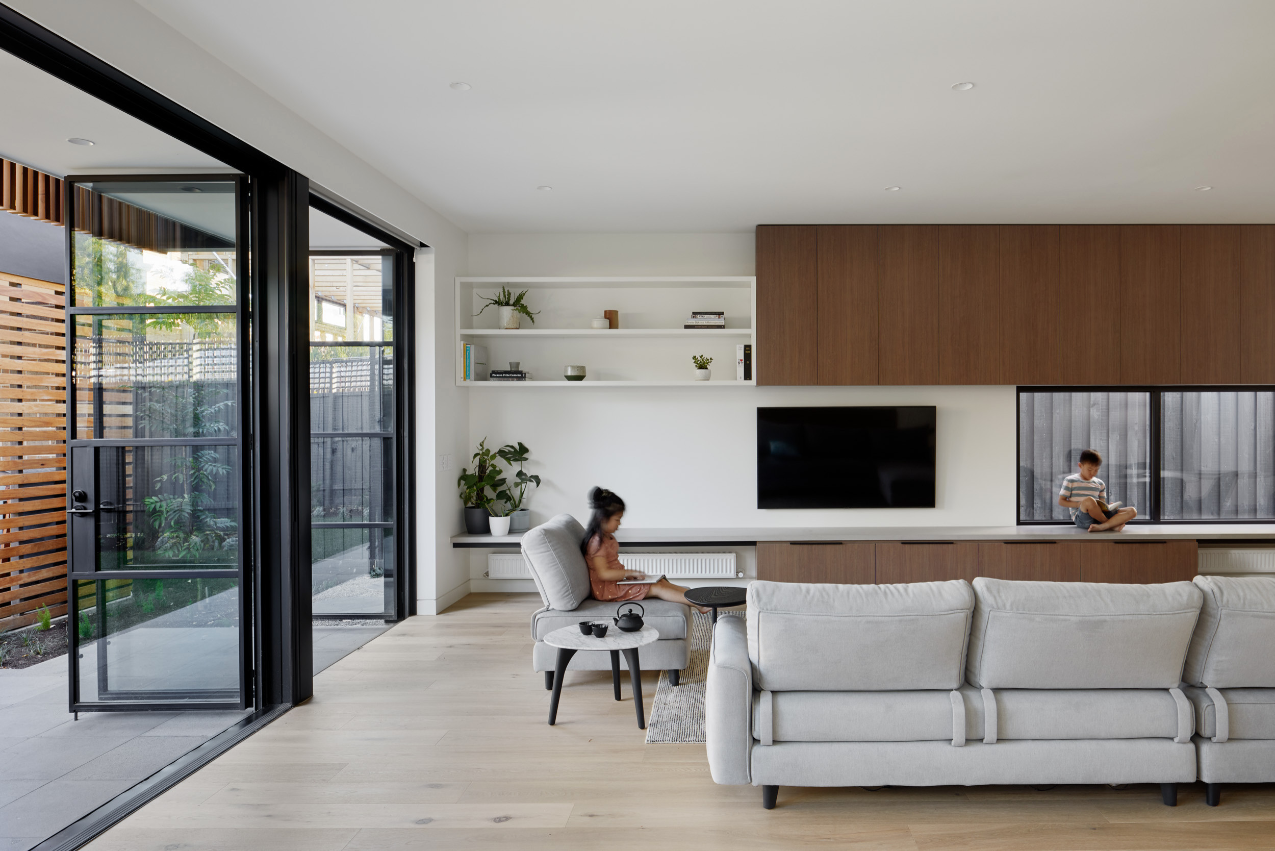 75 Beautiful Modern Living Room Pictures Ideas December 2020 Houzz