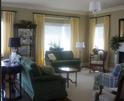 Rosedale Village Adult Lifestyle Community traditional-living-room
