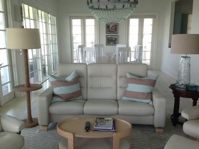Rosemary Beach Florida Beach Style Living Room New Orleans By Elizabeth Favret Interiors