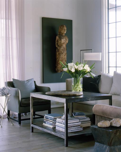 Esempio di un soggiorno classico