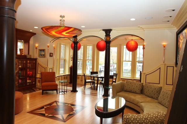 Rosen/Reitz eclectic-living-room