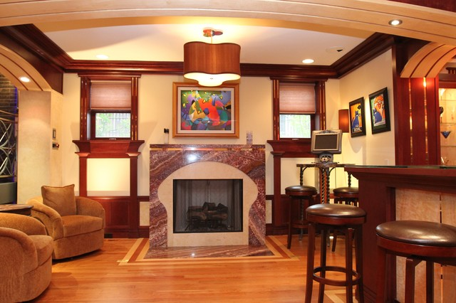 Rosen/Reitz transitional-living-room