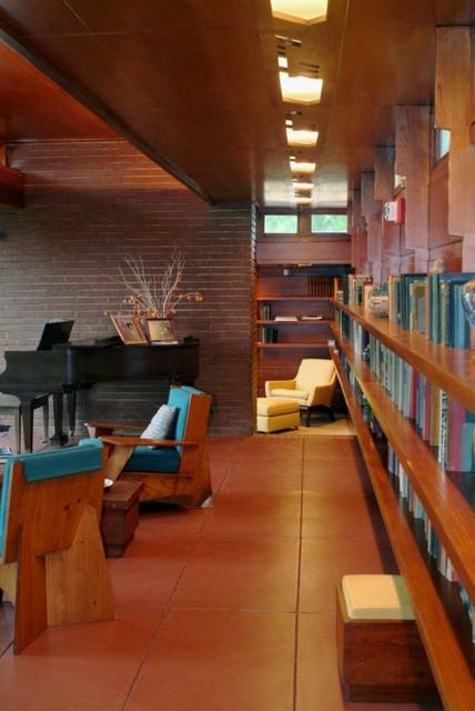 Rosenbaum House modern-living-room