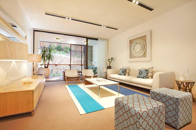 Roseville pavilion contemporary living room los for A line salon corte madera