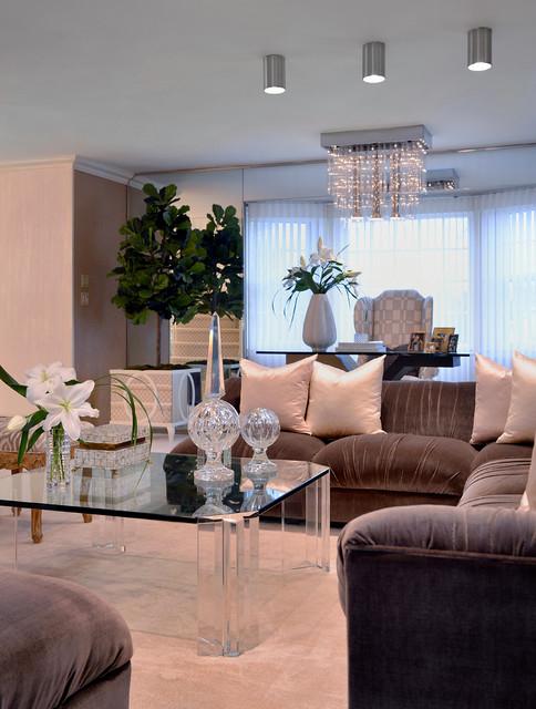 Roslyn Formal Living Room Contemporary Living Room New York By Debora