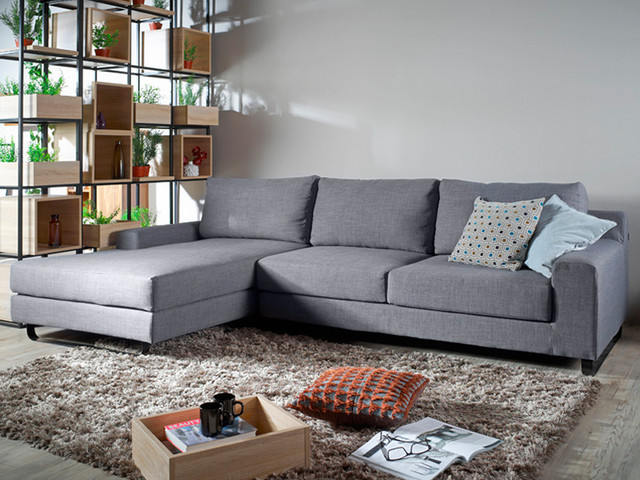 Ross L Shape Sofa Contemporary Living Room Part 55