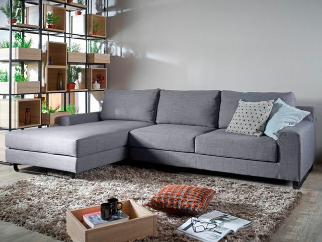 Ross L-shape Sofa - Contemporary - Living Room - Singapore - by ...