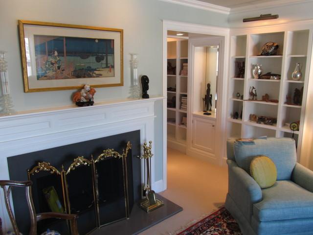 Rowayton design build townhouse modern living room for Townhouse living room ideas