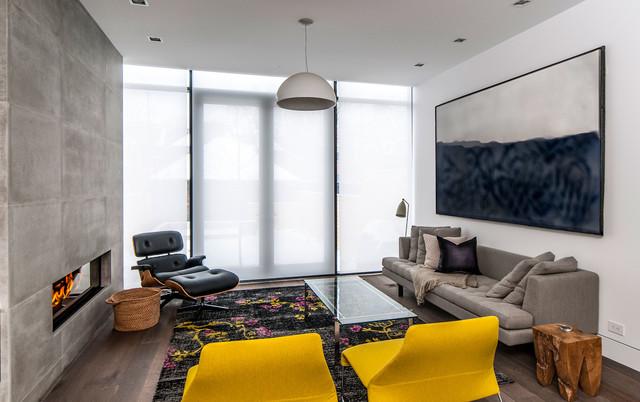 Rox Residence modern-living-room
